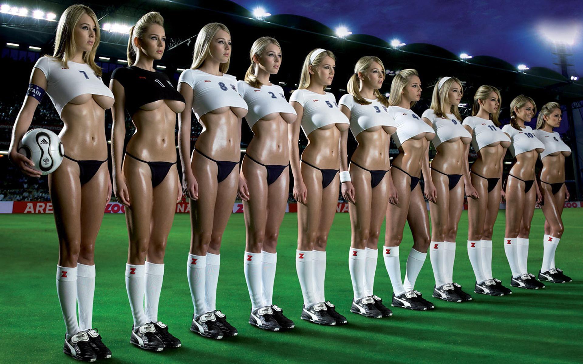 Сексуальные футболистки фотки порно сделает