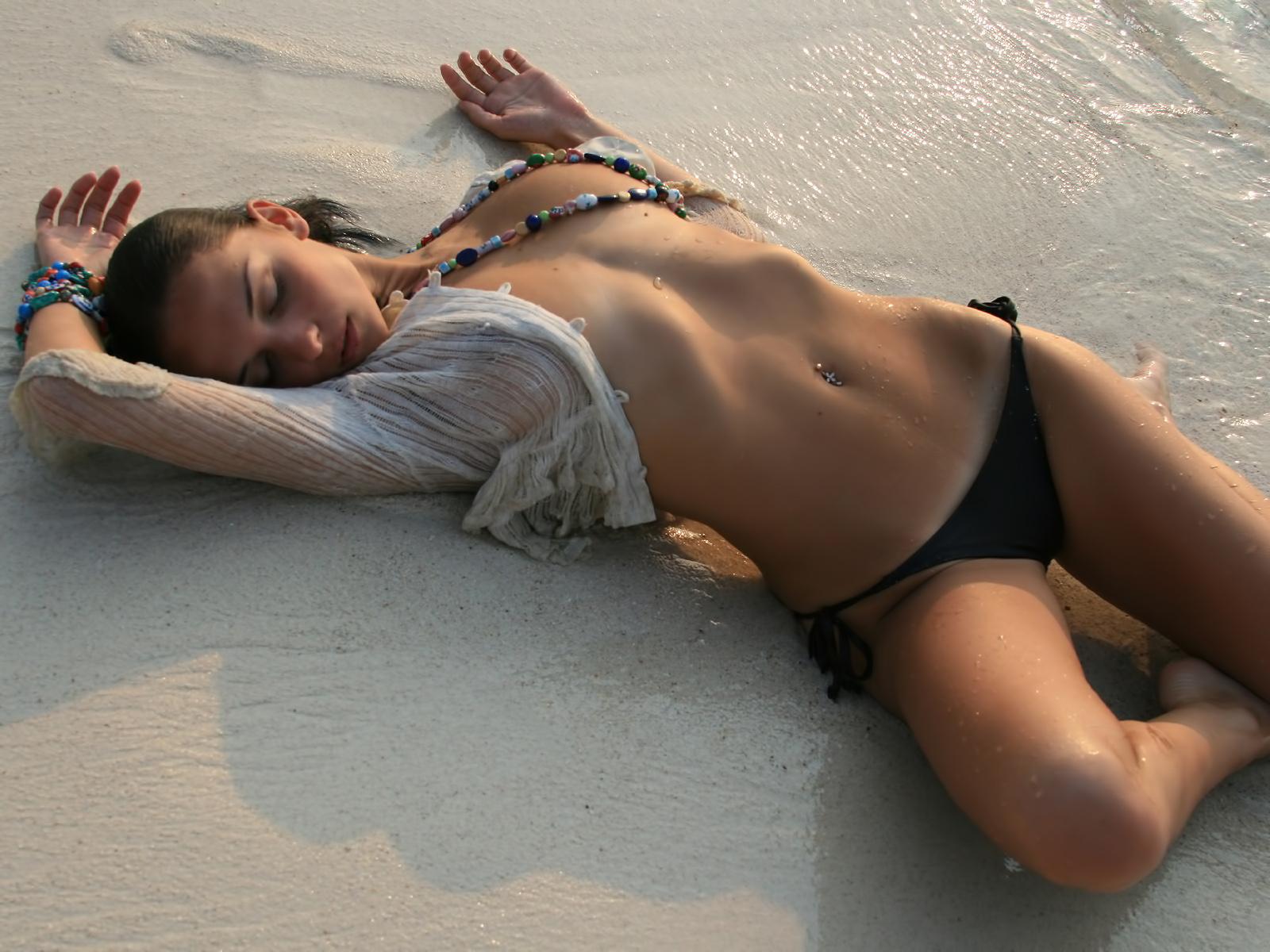 Пляже без всего фото